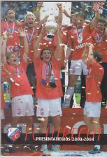 Presentatiegids / Presentation Magazine FC Utrecht 2003-2004