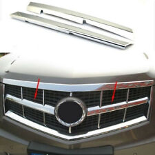 Chrome Front Grille Vent Hole Grill Frame Cover Trim For 2010-2012 Cadillac SRX