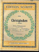 L. Borel ~ Christglocken ~ alt, übergroß