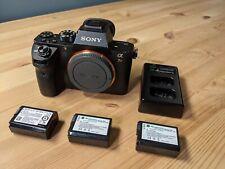 Sony Alpha A7R II 42.4 MP Mirrorless Digital Camera - Black (Body Only)