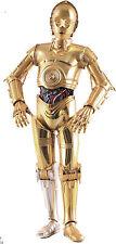 Costume di C-3PO SCALA 1:1 INDOSSABILE COSPLAY (star wars 7 costume C3PO