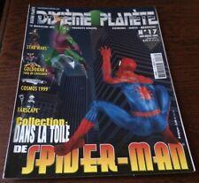 DIXIEME PLANETE N°17  Dossier SPIDER-MAN ..FIGURINES..JOUETS..MAQUETTES