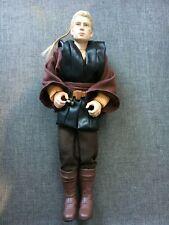 "Hasbro 1/6 Scale 12"" Star Wars Episode 2 Anakin Skywalker Action Figure Used"