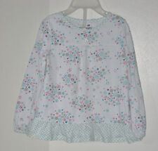 JUMPING BEANS Size 4T Multi-Color Floral Long Sleeve Tops ~ Shirt