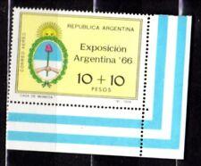 Argentinien 1966, Mi. 908 Briefmarkenausstellung Argentina, Nationalwappen, **