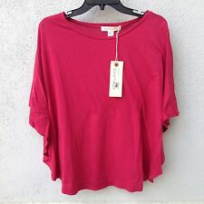$62 Nwt So Low Sport Boat Neck Cape Maroon T Shirt  Size XS