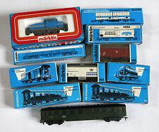 MARKLIN,locomotive 9 wagons,3078,4410,4416,4502,4514,4605,4664,4669,4079,4080