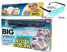 Big Vision Magnifying Eyewear Glasses See 160% More Better