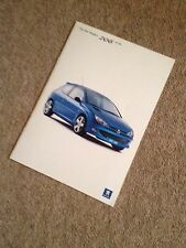 Peugeot 206 GTi 180 2003-04 UK Market Sales Brochure , Rare Booklet . 180 Bhp.
