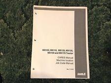 7-11470 - A New Job Code Manual For A CaseIh Mx100, Mx110, Mx120, Mx135 Tractors