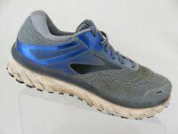 BROOKS Adrenaline GTS-18 Grey/Blue Sz 9.5 4E Extra Wide Running Shoes
