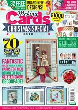 Making Cards Magazine - CHRISTMAS 2016 SPECIAL EDITION - with CD