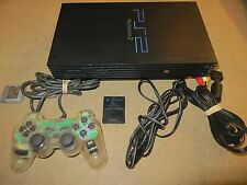 Vintage Sony Playstation 2 PS2 SCPH-30001 COMPLETE 100% WORKING SYSTEM