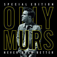 Olly Murs : Never Been Better CD Special  Album with DVD 2 discs (2015)
