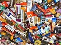 50 Assorted MIX  NUTRITION ENERGY & PROTEIN BAR Quest Luna CLIF MET-Rx ATKINS *