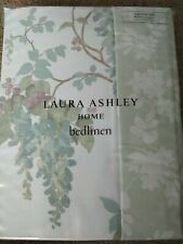 Laura Ashley Wisteria Duck Egg SINGLE Duvet Cover Only- NEW Floral Blue