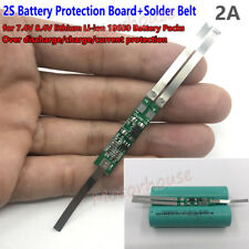 2S Protection board circuit 18650 battery Packs Solder Belt