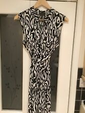 Fenn Wright Manson Animal Print Sleeveless Dress Size 12