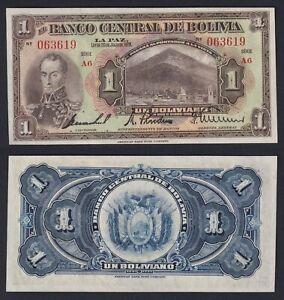 Bolivia 1 boliviano 1928 FDS-/UNC-  C-05