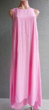 Women WITCHERY Summer Loose Tunic Maxi Dress Pink Size XL Buy7=FreePost L336