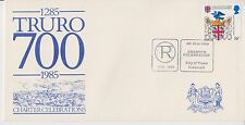 SPECIAL EVENT COVER FDC TRURO CHARTER CELEBRATIONS 1285 - 1985 CORNWALL