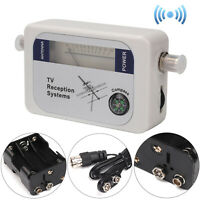 DVB-T Finder Digital Aerial Terrestrial TV Antenna Signal Strength Meter  UK