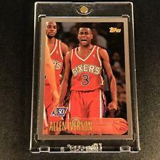 ALLEN IVERSON 1996 TOPPS #171 NBA AT 50 FOIL PARALLEL ROOKIE RC 76ERS NBA HOF
