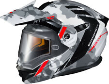 Scorpion EXO-AT950 Outrigger Electric Snowmobile Helmet Matte White