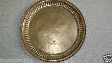 VINTAGE INDIAN YELLOW COPPER PLATE 1900S CENTURY