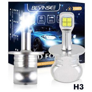 For Subaru B9 Tribeca 2006-2007 H3 Fog Light LED 6500K White 80W Foglight Bulbs