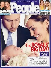 PRINCE WILLIAM KATE & GEORGE BAPTISM People November 11, 2013 11/11/13 B-1-2
