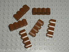 LEGO WESTERN OldBrown brick log ref 30137 / Set 6769 6762 3225 7419 6763 6766 ..