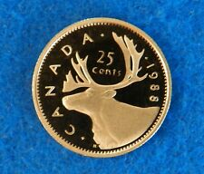 1988 Canada 25 Cents - Beautiful Proof Coin - Only 179K Minted - See PICS