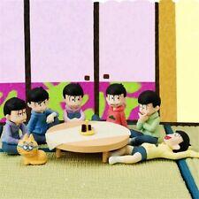 "6pcs Set Anime Mr. Osomatsu-San We Are Family 2"" Trading PVC Figure No Box New"