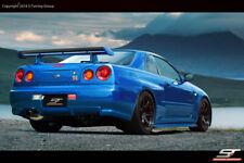 Heckspoiler passend für Nissan Skyline R33 , R34, GTT, GTR Heckflügel Wing