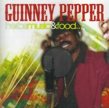 GUINNEY PEPPER HERBS MUSIC AND FOOD CD NEW SEALED FREE UK FAST POST