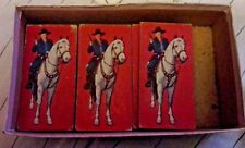 Vintage Hop Along Cassidy Domino Cards