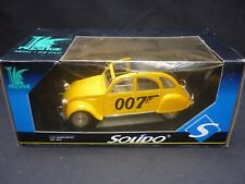 A Solido scale model of James Bond's Citroen 2 CV,  boxed