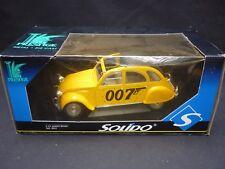 A Solido scale model of James Bond's Citroen 2 CV,  boxed