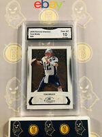 2009 Donruss Classics Tom Brady #59 - 10 GEM MINT GMA Graded Football Card