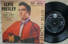 Elvis Presley - Strictly Elvis  - 1960's  - Excellent-  E.P - RCX 175 E/T Tax