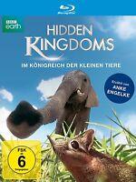 HIDDEN KINGDOMS - IM KÖNIGREICH DER KLEINEN TIERE  BLU-RAY NEU