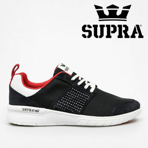 NEW Supra Scissor Shoes Trainers Running Skate Casual - Navy / Red / White