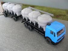 1/87 Wiking MB 2244 Silo-camión azul gris 575