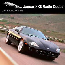 Jaguar Radio Code XK8 Security Unlock Codes Sat Nav Decode - Fast Service