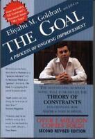 THE GOAL by Eliyahu M Goldratt FREE SHIPPING paperback book business improvement