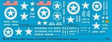 Peddinghaus 0778 1/35 US Army marcature m3-m8 e m4a1 Sherman