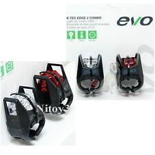 Evo E-Tec Edge 2 Combo Pro-Power Bike Light Set- Front & Back
