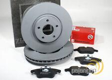 Ford Mondeo 4 IV - Zimmermann Bremsscheiben Bremsbeläge für vorne hinten*