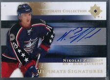 2005-06 Ultimate Collection Ultimate Signatures #USNZ Nikolai Zherdev Auto